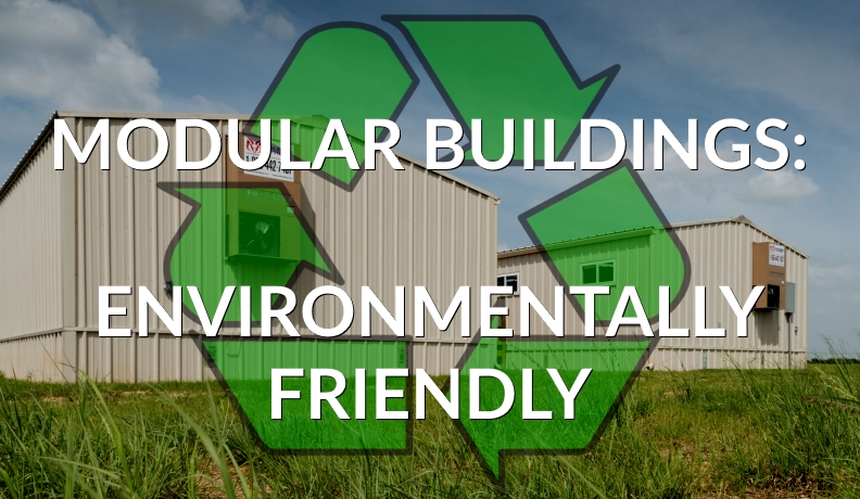 used modular buildings are environmentally friendly