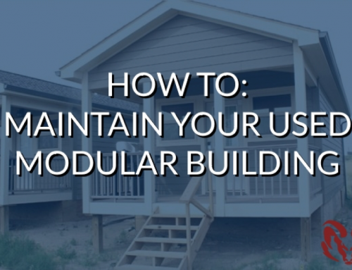How to Maintain Your Used Modular Building
